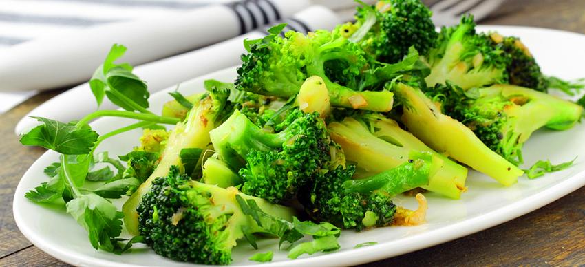 Рецепты из брокколи и цветной капусты видео