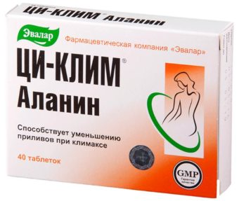 Препарат Эвалар - «Ци-клим Аланин»
