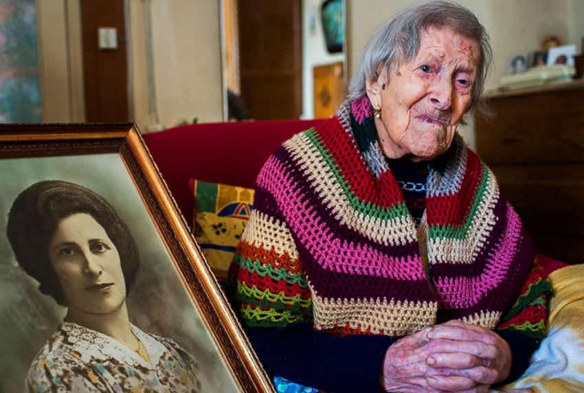 Самый старый человек в мире 2016 117 лет