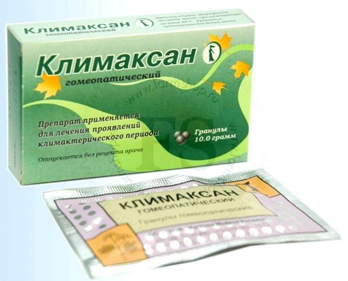 Гомеопатический Климаксан в гранулах