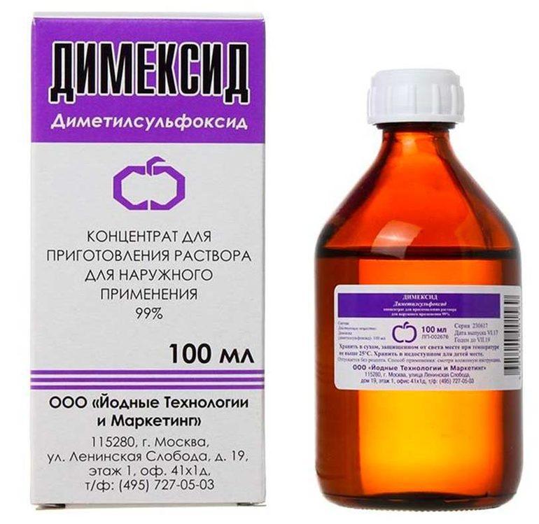 Особенности применения Димексида