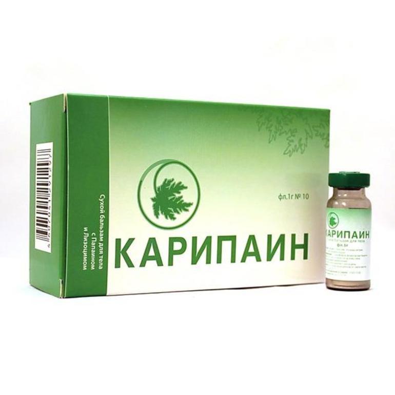 Лекарственные формы Карипаина