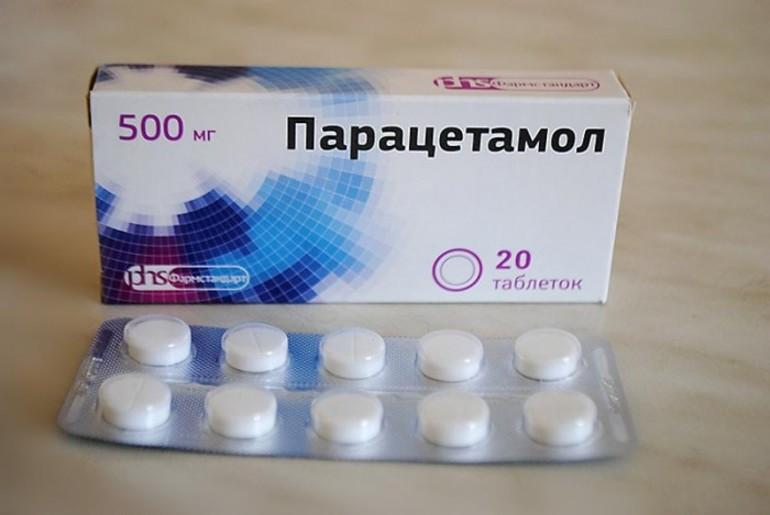 Назначение препарата Парацетамол