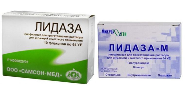 Описание препарата Лидаза