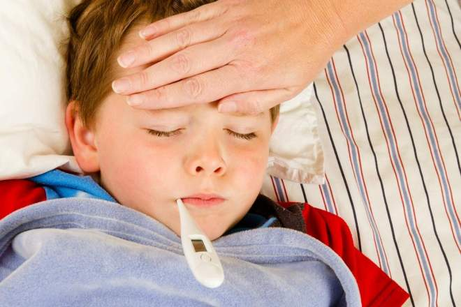 Гипертермия у ребенка