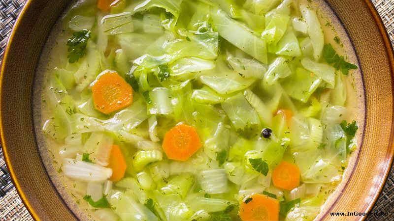 детокс суп зимний из капусты