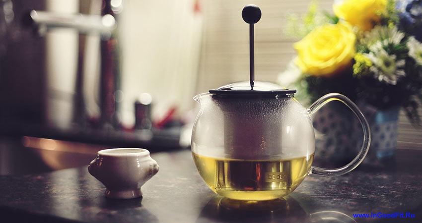 как эффективно убрать живот с помощью зеленого чая