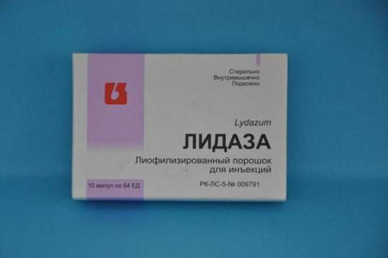 Показания к применению препарата Лидаза