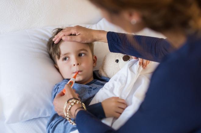 Повышение температуры тела у ребенка
