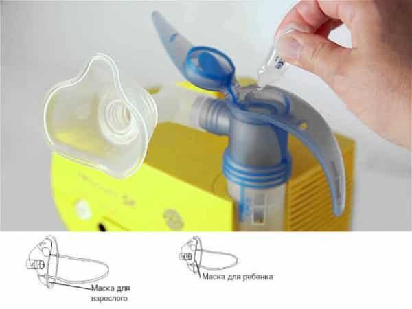 Ингаляции с хлоргексидином в небулайзере детям и взрослым