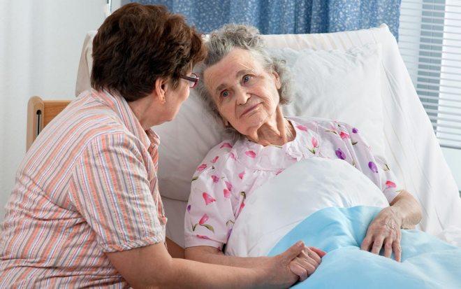 Пожилая пациентка