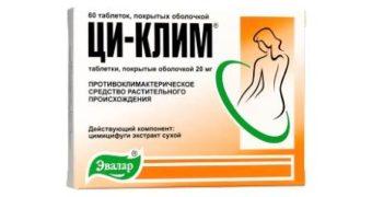 Ци-клим - препарат при климаксе негормональный