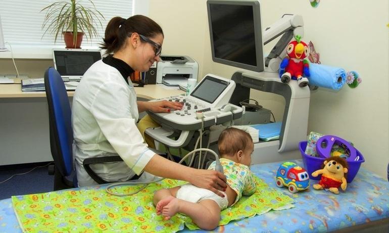 Ультразвуковое исследование ребёнка