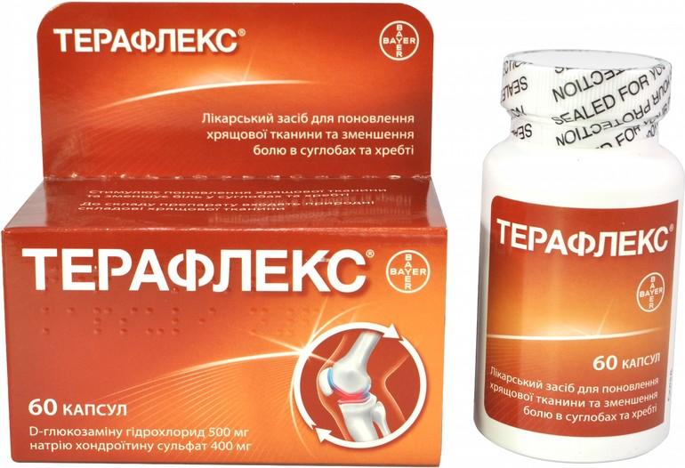 Терафлекс для лечения суставов