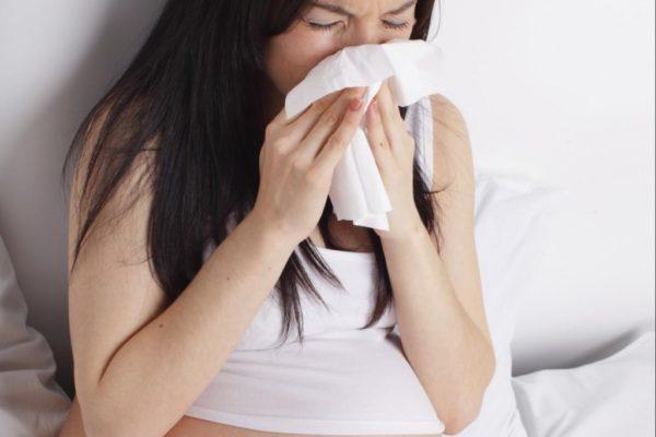 Беременная болеет