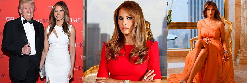 Мелания Трамп самая сексуальная первая леди для похудения