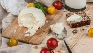 сыр домашнего приготовления