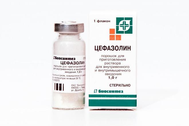 Цефазолин в уколах