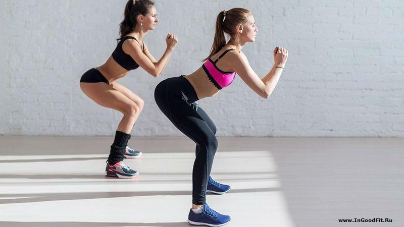 лучшие упражнения с собственным весом. приседания