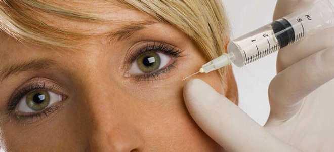 Зачем нужны уколы в глаза