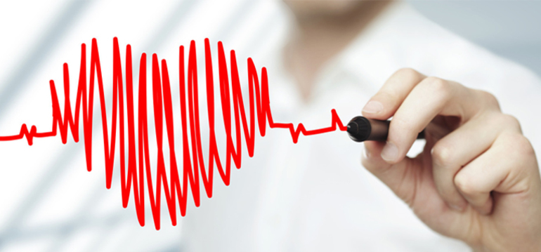 Доктор нарисовал сердце