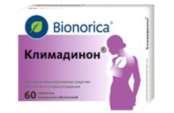 Климадинон - препарат при климаксе негормональный