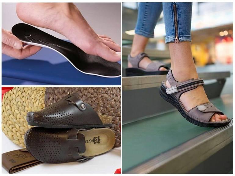 Ношение ортопедической обуви