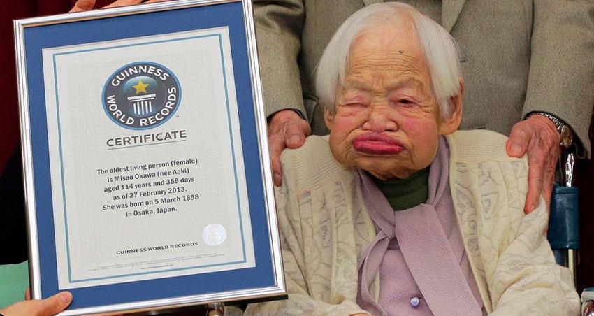 Самый старый человек в мире 2016 на планете