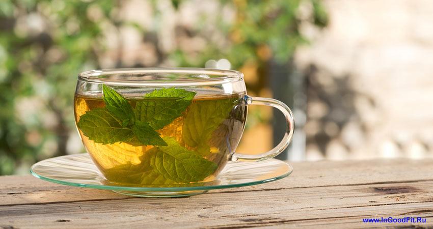 как эффективно убрать живот с помощью мятного чая