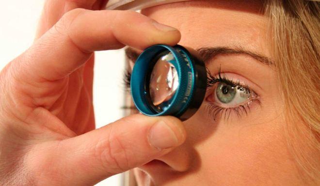 Нарушение остроты зрения