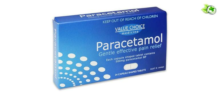 Как пить Парацетамол