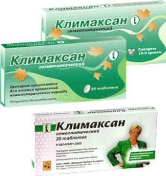 Таблетки климаксан - инструкция по применению